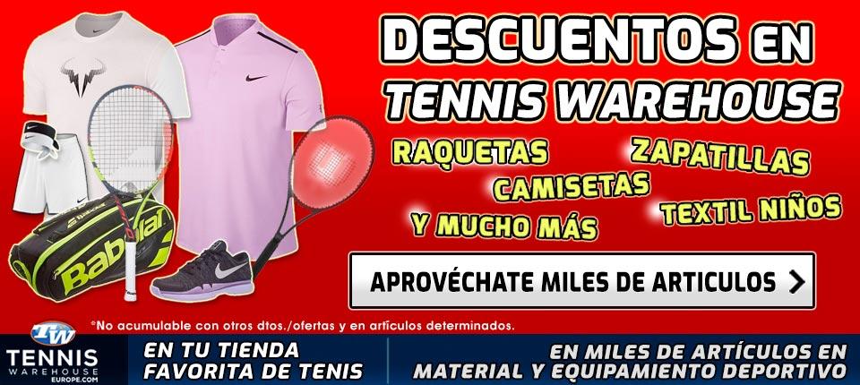 Códigos de Descuento en Tennis Warehouse Europe
