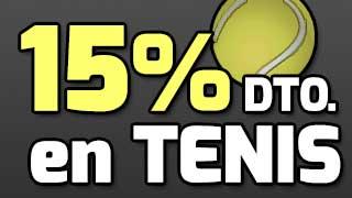 15% Dto. en tenis con el Cupón RNPAP