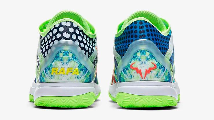 Motivos de la edición especial, homenaje a Rafa Nadal (C) Nike