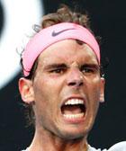 Foto perfil de Rafa Nadal en Australian Open 2018