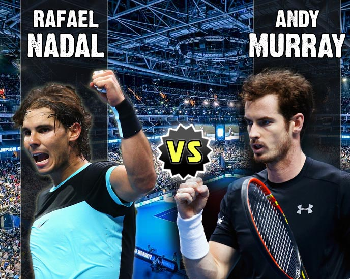 Nadal vs Murray en Torneo Maestros 2015