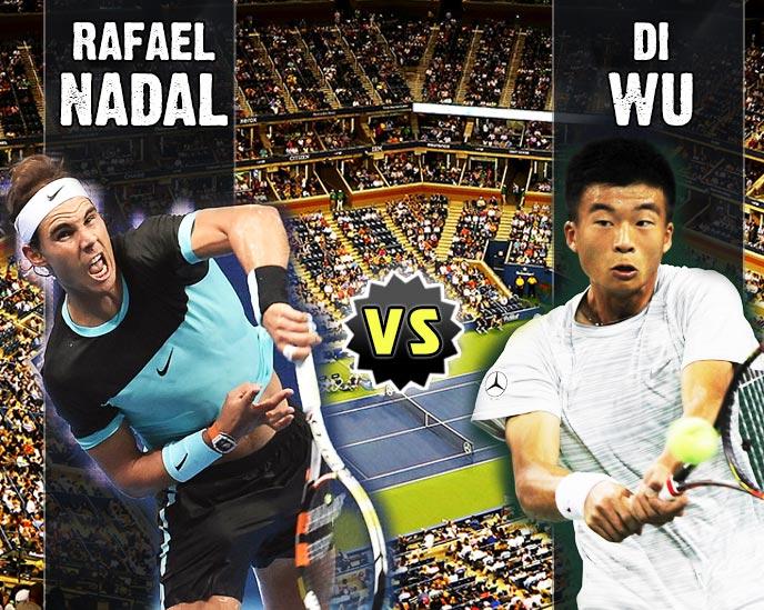Nadal vs Wu en Beijing 2015