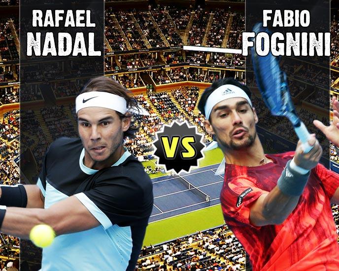 Nadal vs Fognini en Beijing 2015