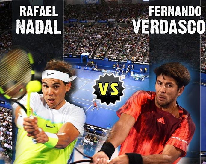 Nadal vs Verdasco en Australian Open 2016