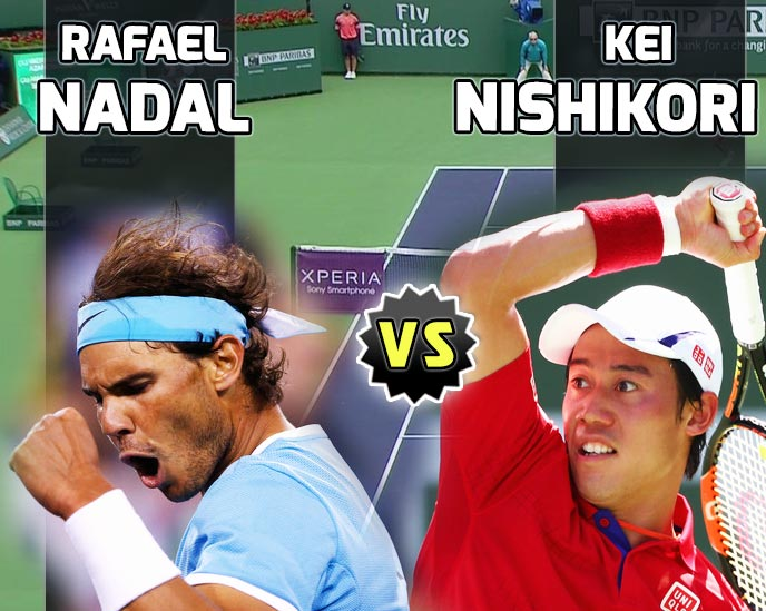 Nadal vs Nishikori en Indian Wells 2016
