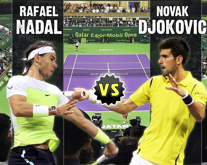Nadal vs Djokovic en Doha 2016