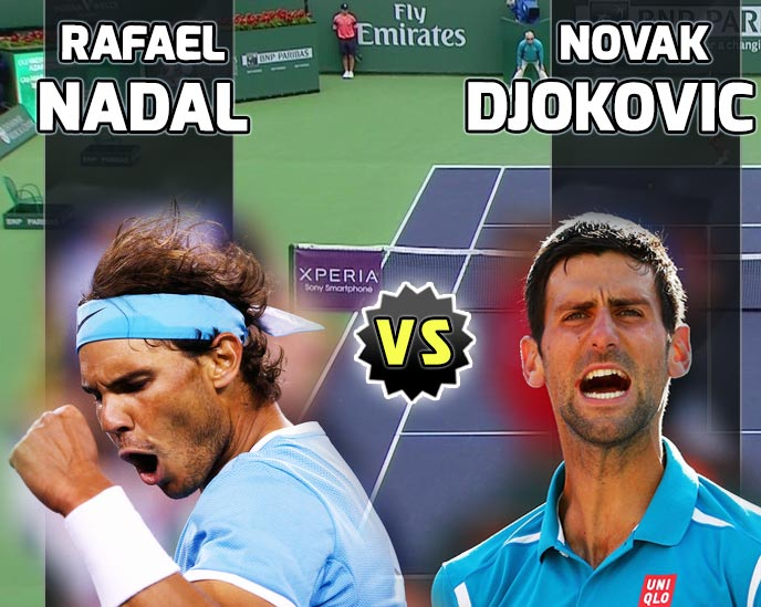 Nadal vs Djokovic en Indian Wells 2016