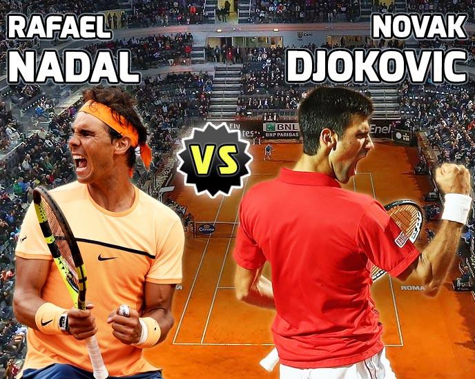 Nadal vs Djokovic en Roma 2016