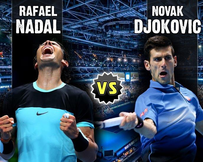 Nadal vs Djokovic en Torneo Maestros 2015