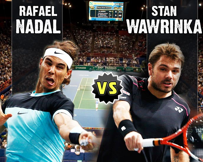 Nadal vs Wawrinka en Paris 2015