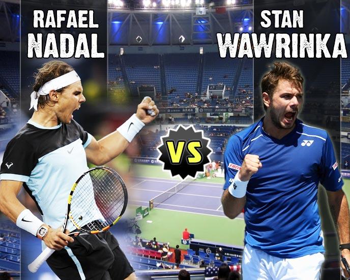 Nadal vs Wawrinka en Shanghai 2015