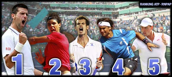 Ranking ATP Tenis Top Ten