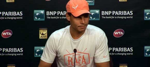 Transcripción conferencia de prensa Rafa Nadal post-partido vs Stepanek