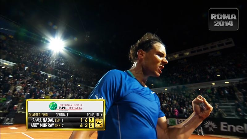 Nadal vs Murray Masters 1000 de Roma 2014