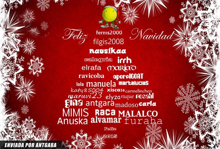 Felices fiestas - Enviado por Antgara