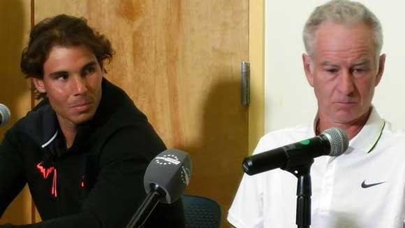 John McEnroe destaco la humildad de Rafa Nadal