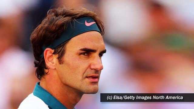 Federer se fue a dormir pensando en la victoria de Nadal