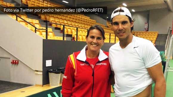 Nadal: Perdi muchas oportunidades en Copa Davis en los ultimos anos