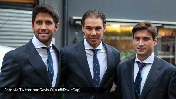 Rafael Nadal: Esperemos ganar aqui para intentar volver al Grupo Mundial