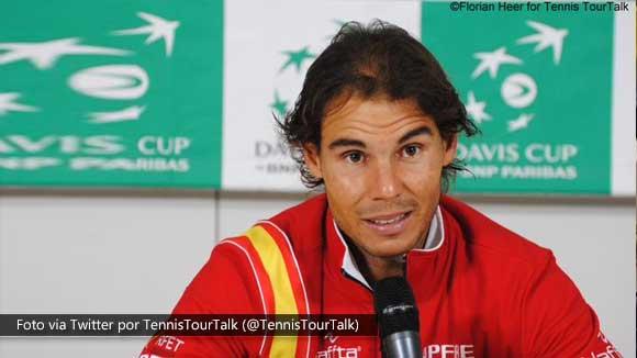 Rafael Nadal: He hecho lo que tenia que hacer para ganar, lo justo y necesario