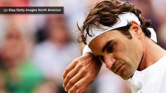 Roger Federer tambien tuvo su annus horribilis recientemente