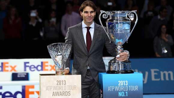 Rafa Nadal nominado para los Premios ATP 2015 Fan Favourite Singles