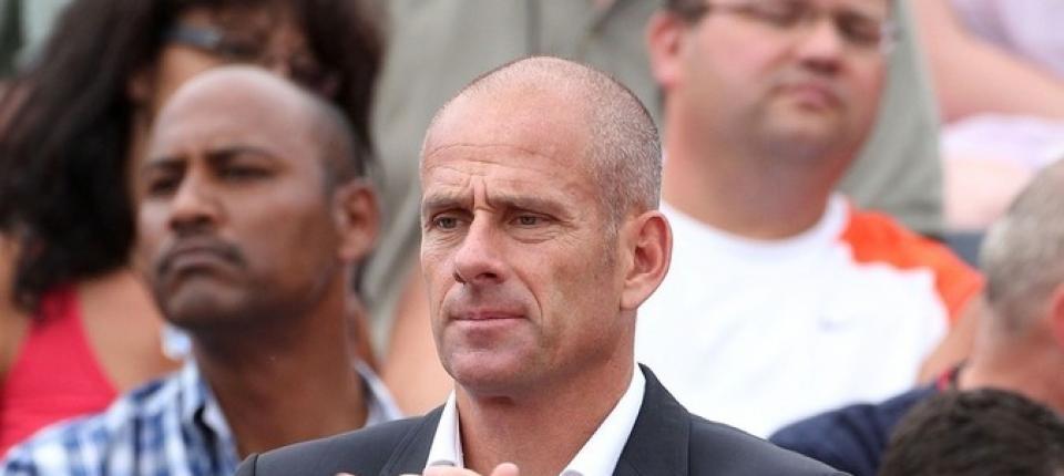 Guy Forget en una imagen de archivo de Roland Garros 2012, en un acto de homenaje al ex-tenista Arnaud Clement