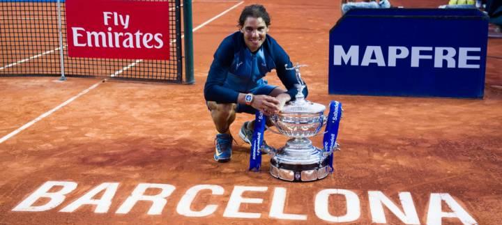 Rafa Nadal se proclama campe�n en el ATP Conde de God� 2016 - Foto (c) Alex Caparros/Getty Images Europe