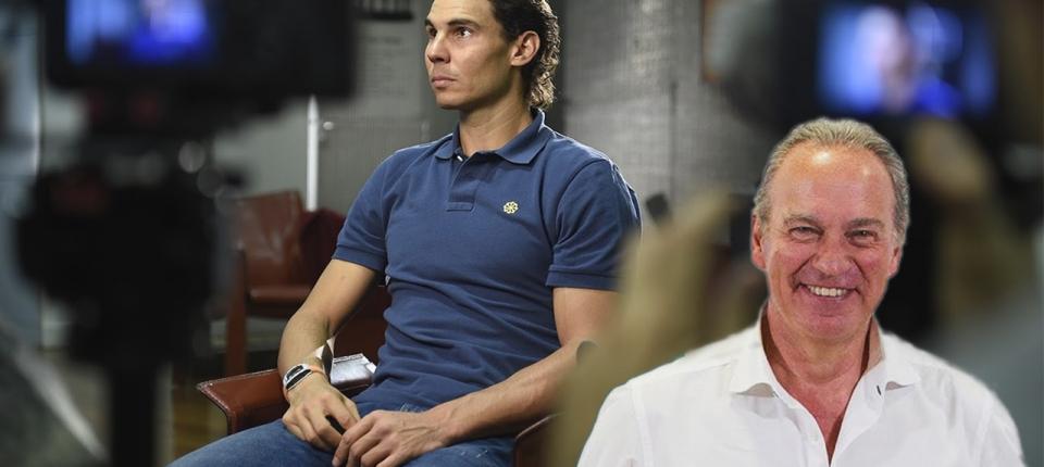 Rafa Nadal será entrevistado por Bertín Osborne en Mi Casa es la Tuya