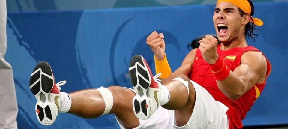 Rafa Nadal, el día que conquistó el oro en los Juegos Olímpicos de Pekín 2008