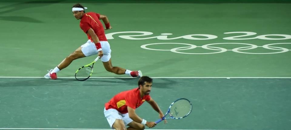 Nadal y López doblegaron a Del Potro y González en los Juegos de Río 2016