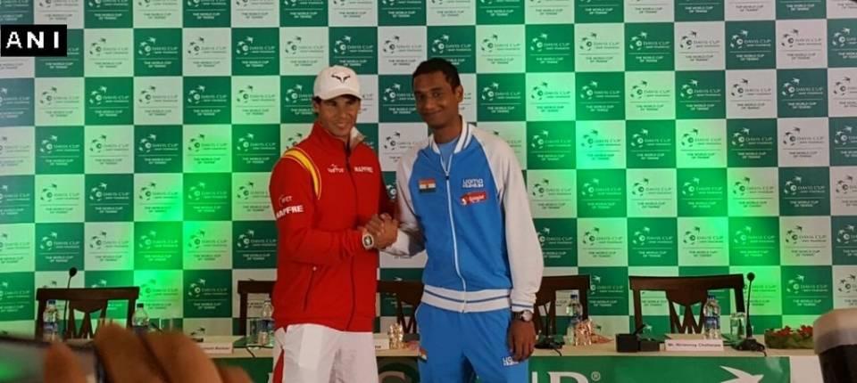 Nadal vs Ramanathan será el primer partido de Copa Davis entre India y España