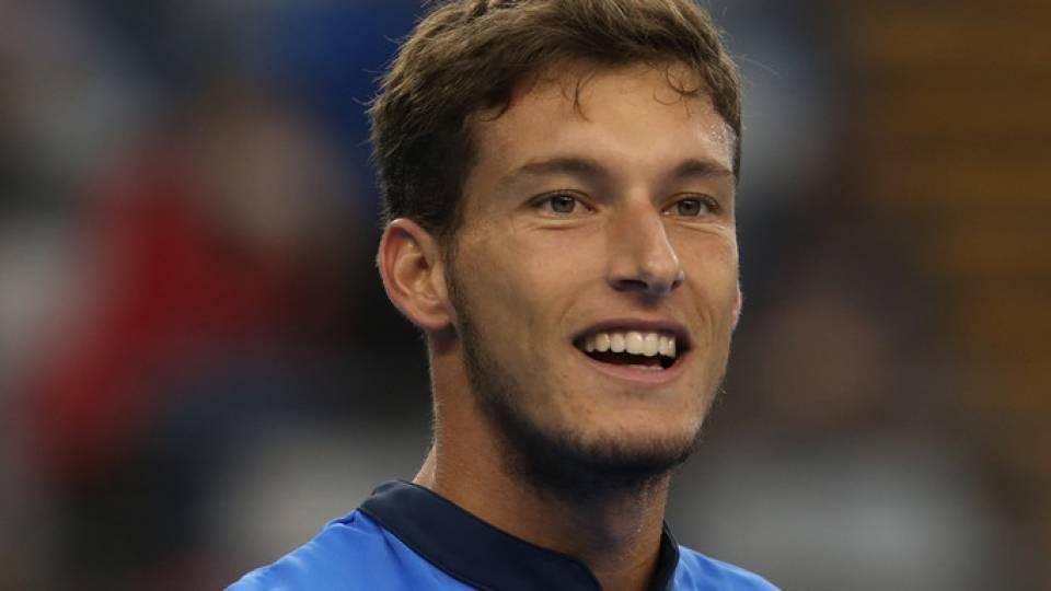 Pablo Carreño tras ganar a Gael Monfils en el China Open 2016