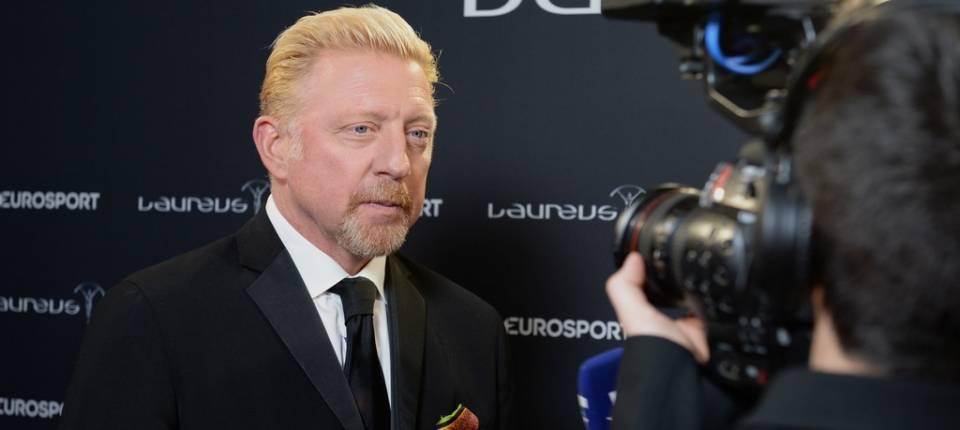Boris Becker en los Premios Laureus del Deporte 2017