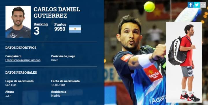 Sanyo Gutiérrez, el actual número 3 del mundo del World Padel Tour, apuesta por las Revolt Pro (C) worldpadeltour.com