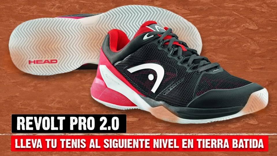 Las nuevas Revolt Pro 2.0 son un auténtico caballo de batalla para jugar al tenis en pistas de tierra