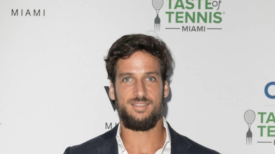 Feliciano López en un evento en Miami - Marzo 2017