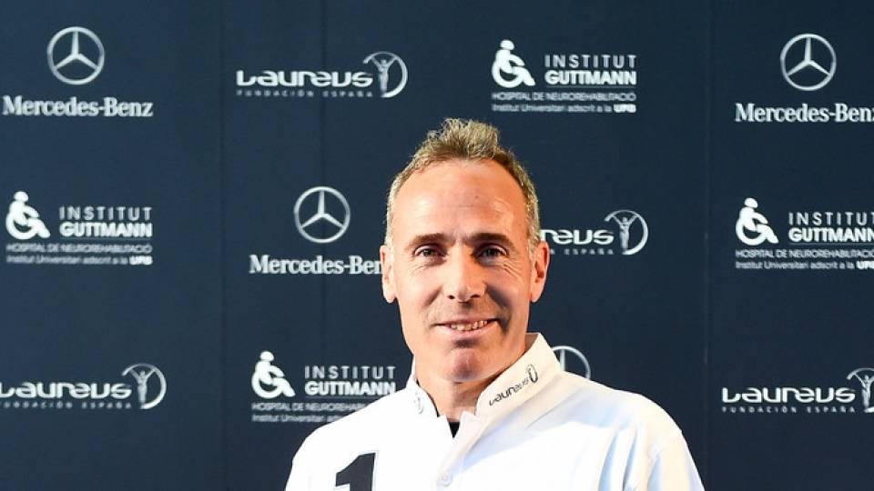 Alex Corretja como embajador de la Fundación Laureus España en 2015
