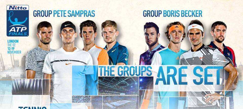 Los 8 contendientes del Nitto ATP World Tour Finals 2017