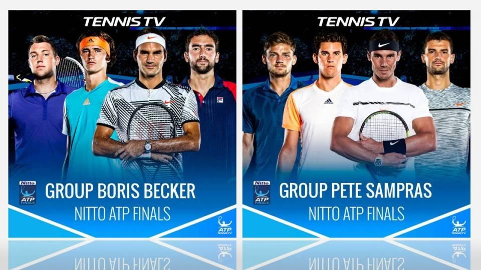 Cuadro de las Nitto ATP Finals 2017