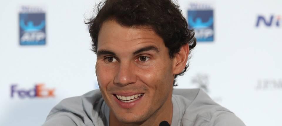 Nadal en la rueda de prensa del Nitto ATP Finals este viernes