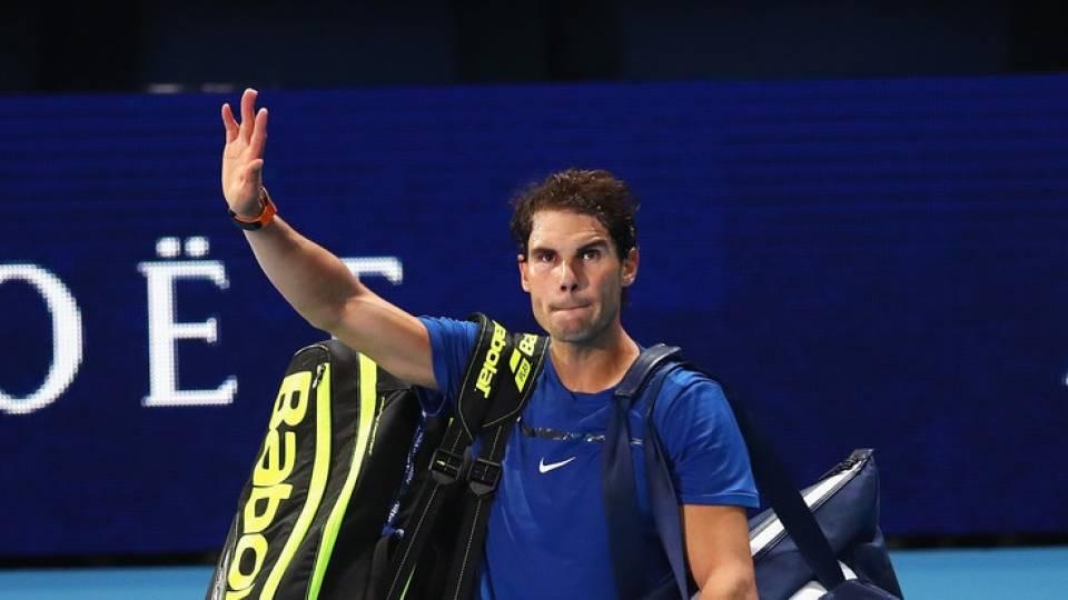 Rafa Nadal se despide en su debut en el Nitto ATP Finals 2017