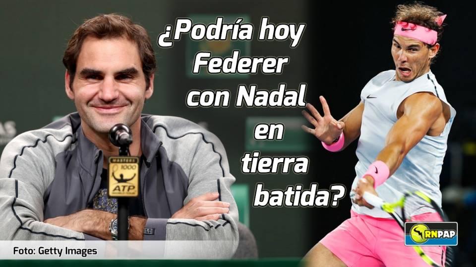 Federer habló sobre su gran rival Nadal desde Indian Wells
