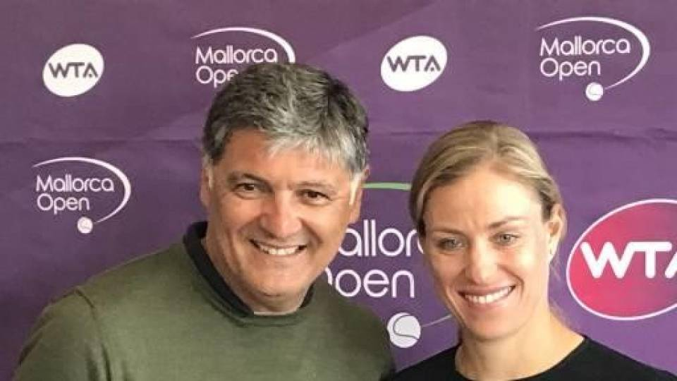 Toni Nadal, director del Mallorca Open WTA 2018, durante su presentación este martes