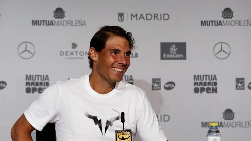 Nadal en la rueda de prensa post-partido vs Monfils - R2 Madrid Open 2018