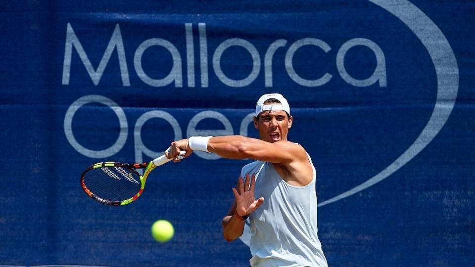 Rafa Nadal prepara Wimbledon 2018 en el Mallorca Open