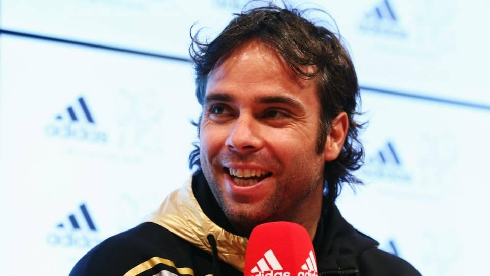 Fernando González atendiendo a un evento de Adidas en 2012, en la ciudad de Westfield Stratford