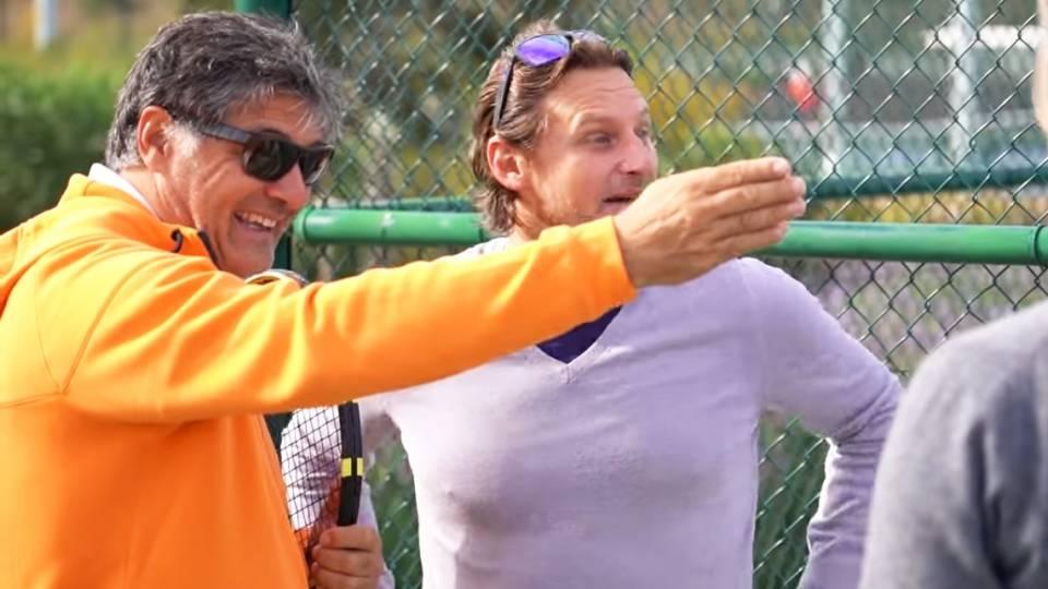 Toni Nadal durante una reciente visita a la academia de David Nalbandian