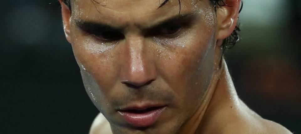 Rafa Nadal durante la final del Open de Australia 2019 contra Djokovic
