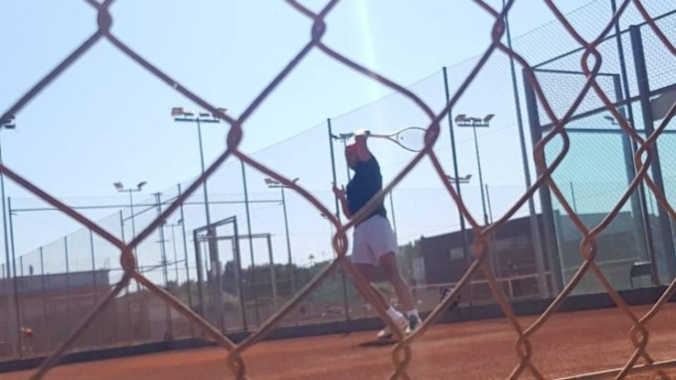 Rafa Nadal entrenando en arcilla en su academia - 27 marzo 2019